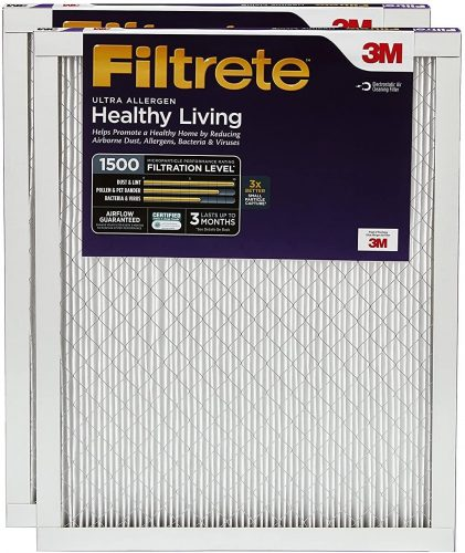 Filtrete - UR22-2PK-1E MPR 1500 20x30x1 AC Furnace Air Filter