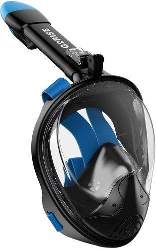 G2RISE SN01 Full Face Snorkel Mask- Detachable Snorkeling Mount