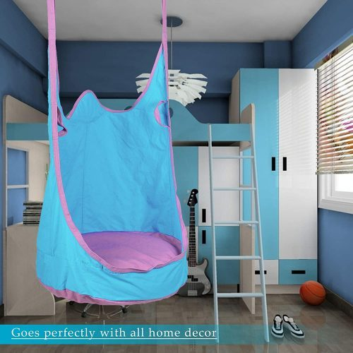 CO-Z Kids Pod Swing Seat Child Hanging Hammock Chair Indoor Outdoor