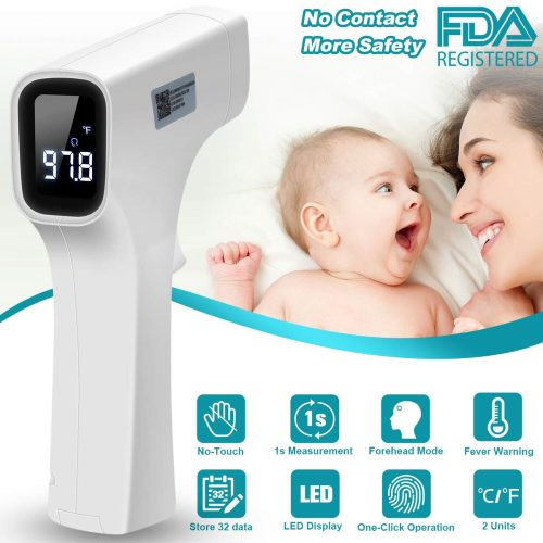 Forehead Thermometer, Digital Thermometer Professional Precision Non-Contact