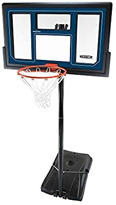 Lifetime 1529 Courtside Height Adjustable Portable Basketball System