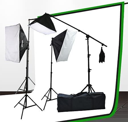 Fancierstudio Lighting and Green Screen Kit
