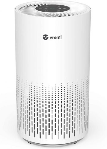 Vremi Large Room Home Air Purifier with True HEPA Filter
