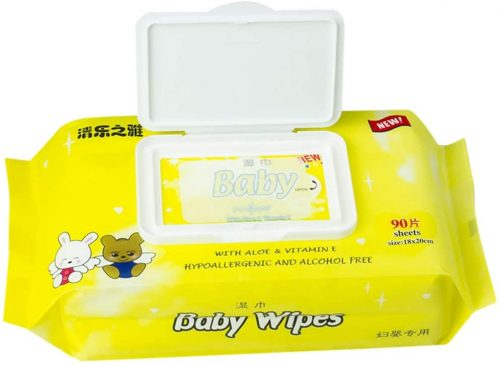 Baby Wipes, Pampers Aqua Pure Sensitive Water Baby Diaper Wipes