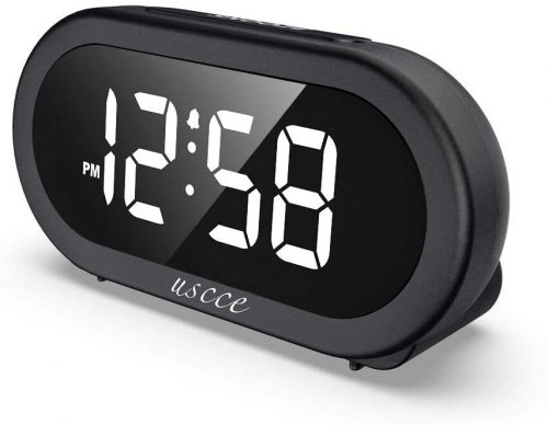 Small LED Digital Alarm Clock by USCCE