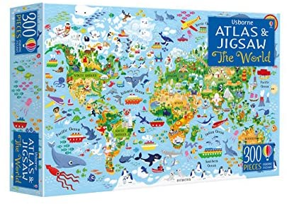Usborne's The World Atlas and Jigsaw