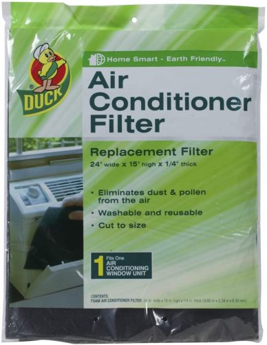 Duck Brand Replacement Air Conditioner Foam Filter