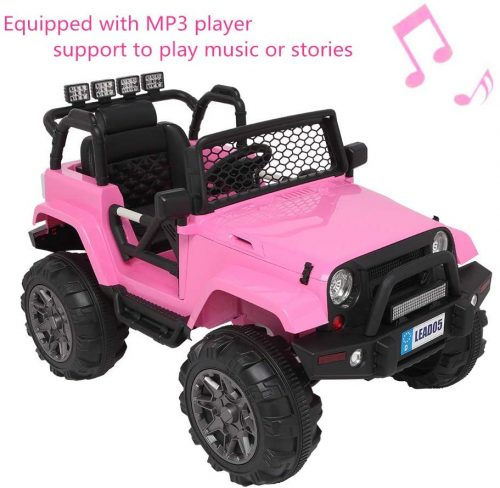 Binrrio Upgrade Jeep Truck Kids Ride-On