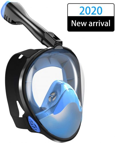 Full Face Snorkel Mask and Respirator