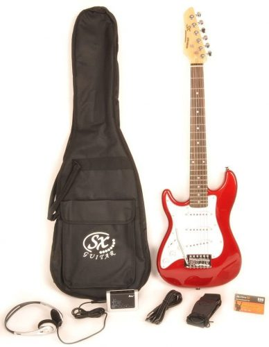 Left-Handed Electric Guitar by SX