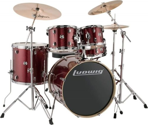 Red Sparkle (LCEE22025) Drum Set by Ludwig