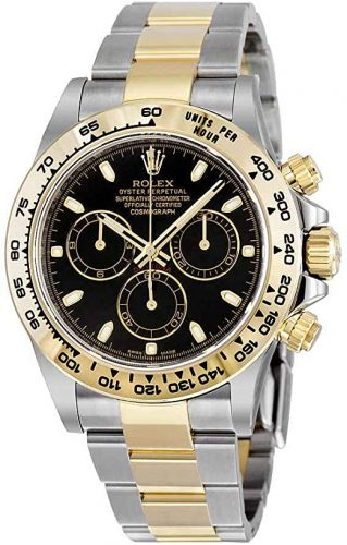 Rolex Cosmograph Daytona Steel and 18K Yellow Gold Oyster Men's Watch