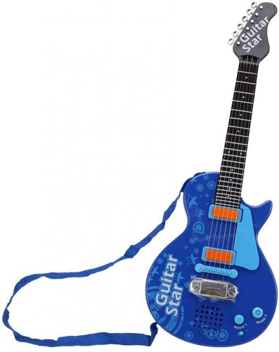 Kids Electric Musical Guitar Toy for Beginners by Yamix