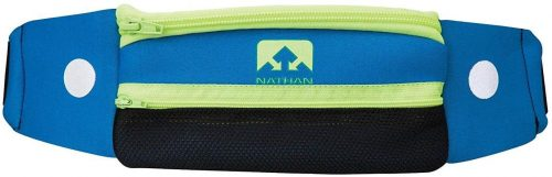 NATHAN Running Belt Waist Pack 5K with Reflective Detail, Zippers and Adjustable Pouch Strap - Runners Fanny Pack - Bounce Free Pouch, Ultra-Lightweight...