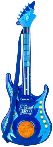 Blue Guitar Kids Music Instrument by Mozlly
