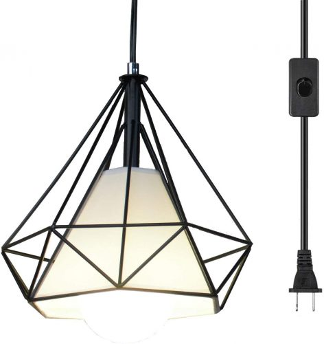 Ganeed Pendant Light Plug-In Hanging Lamps