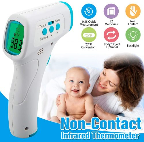 Forehead Thermometer, Infrared Digital Thermometer Professional