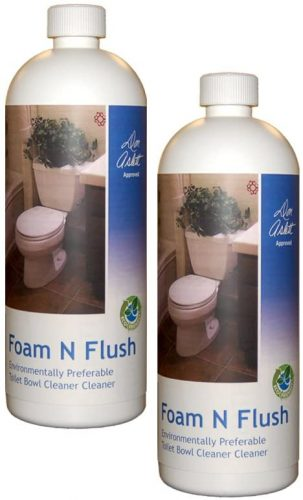 Don Aslett's Foam n Flush Toilet Bowl Cleaner 2 Pack