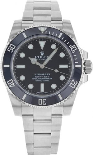 Rolex New Submariner 114060 Steel Black