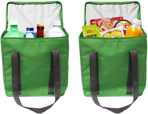 Earthwise Large INSULATED Grocery Bag - Reusable Grocery Bags