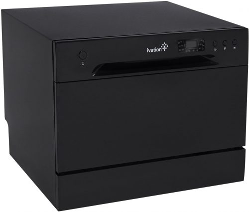 Ivation Portable Dishwasher – Countertop Small Compact Dishwasher for Apartment, Condo, RV, Office & Other Small Kitchens – 6 Place Setting...