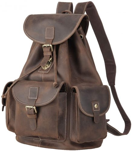 Leather Backpack by Polare
