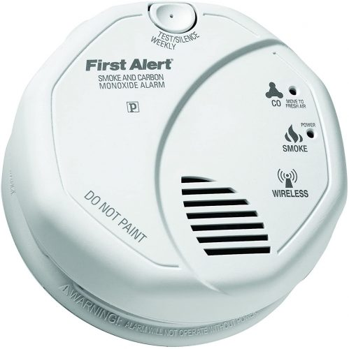 2-in-1 Z-Wave Wireless Smoke Detector by First Alert