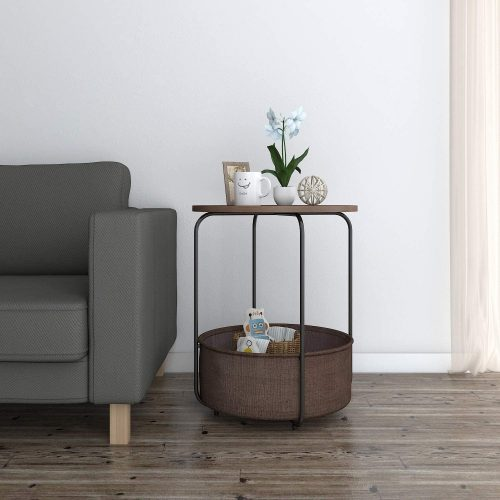 Lifewit Round Side Table