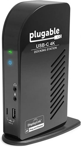 Plugable USB-C 4K Triple Display Docking Station