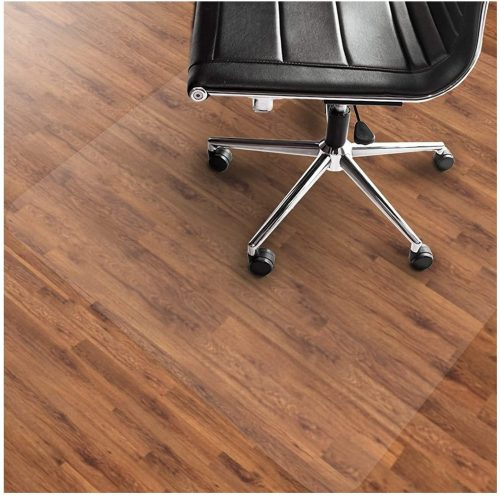Komene Office Chair Mat: Make The Best Protection for Hardwood Floor,Multiple Sizes BPA-Free and Rectangular Non-Toxic Great Clear Thick Vinyl Mat for Rolling Chair and Computer Desk 36x48