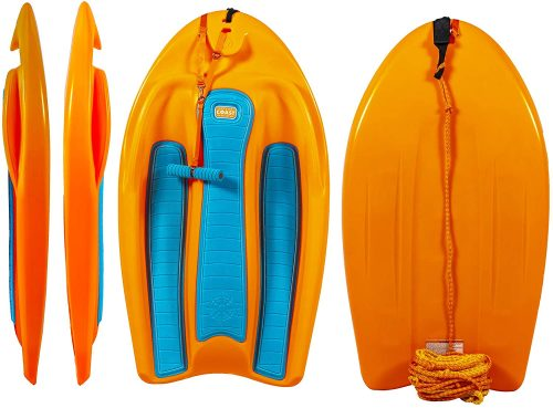 ZUP Coast Board All-in-One Kid's Wakeboard with Rope Handle