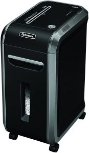 Fellowes Powershred 99Ms 14-Sheet Micro-Cut Heavy Duty Paper Shredder with Auto Reverse (4609001)