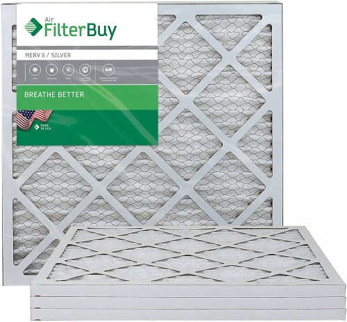 FilterBuy 20x20x1, Pleated HVAC AC Furnace Air Filter