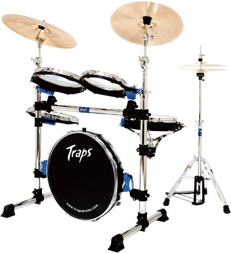 A400 Portable Acoustic Drum Set by Traps Drums