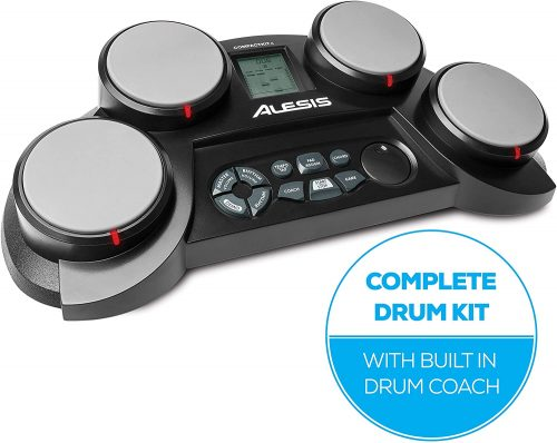Portable 4-Pad Tabletop Electronic Drum Kit by Alesis