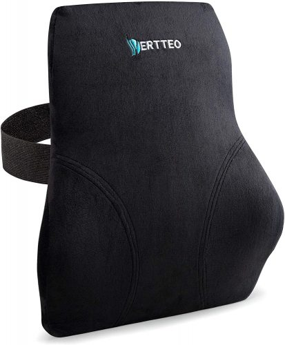 Vertteo Full Lumbar Black Support Premium Entire