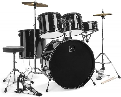 5-Piece Adult Drum Set by Best Choice Products