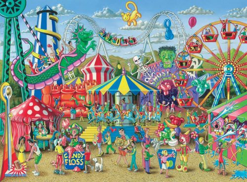 Ravensburger -Fun at The Carnival - 300 Piece Jigsaw