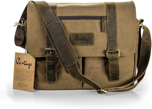 Leather Camera Bag by Portage