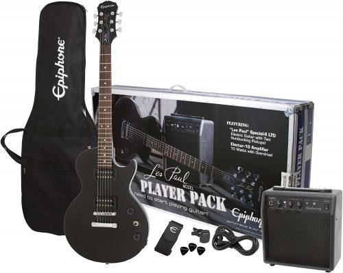 Les Paul Electric Guitar Player Pack by Epiphone