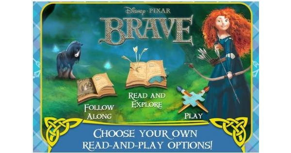 Brave: Storybook Deluxe App Review