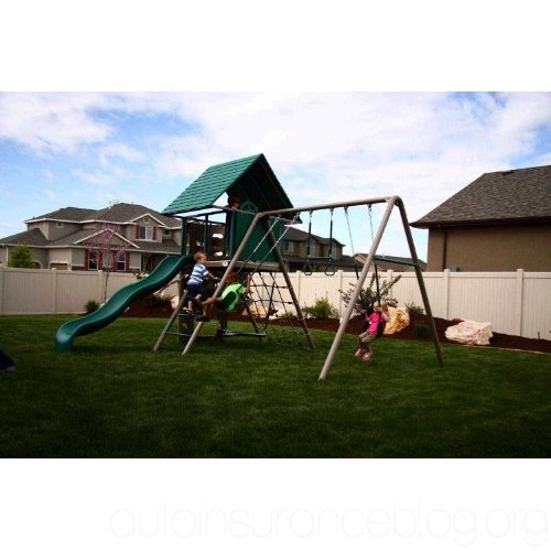 Lifetime A-Frame Adventure Playset