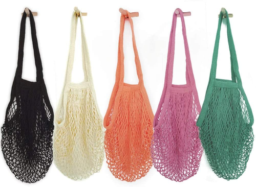 Hotshine Pack of 5 Portable - Reusable Grocery Bags