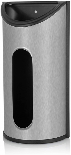 Fortune Candy Stainless Steel Bag Saver, Holders & Dispensers - Feature Easy Access Opening and Fingerprint-Proof Surface