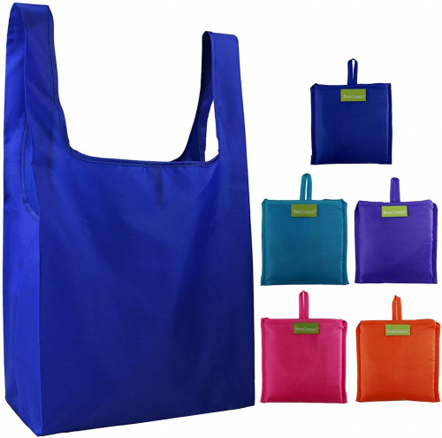 BeeGreen Reusable Grocery Bags Set - Reusable Grocery Bags