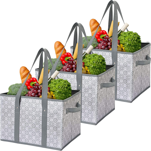 WiseLife Reusable Grocery Bags - Reusable Grocery Bags