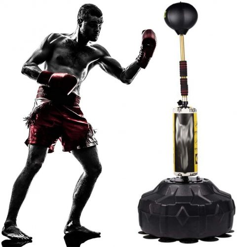 ZAIHW Free Standing Punching Bag, Heavy Training Bag, Adults Teenage Fitness Sport Stress Relief Boxing Target