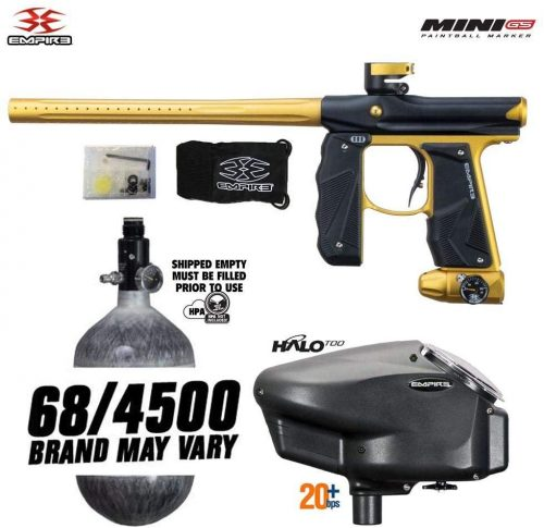 Empire Mini GS HPA Paintball Gun Package C