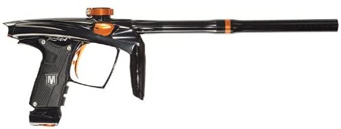 Machine Paintball 2012 Vapor Paintball Gun - Black w/ Orange Accents