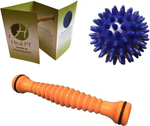 HealPT Foot Roller and Porcupine Ball